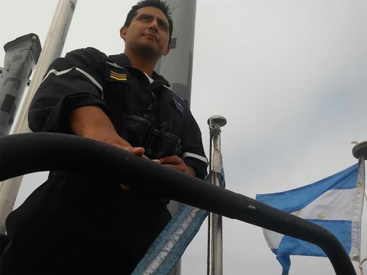 El tripulante del submarino y cabo primero de la Armada Daniel Alejandro Polo