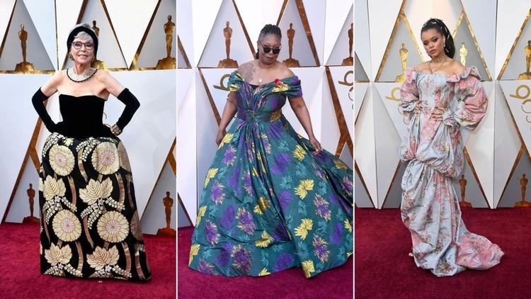 Estilos En Los Oscar 2018 Vestidos Voluptuosos Y Moños De