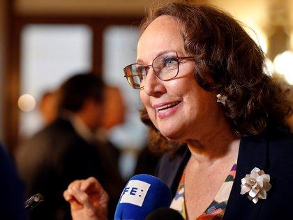 Imagen de Rebeca Grynspan, secretaria general Iberoamericana. EFE/Ernesto Mastrascusa/Archivo