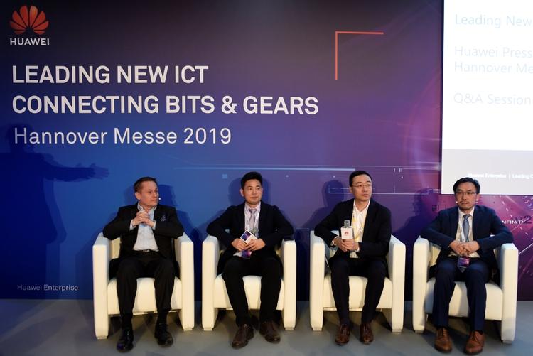 Conferencia de prensa de Huawei en Hanova, Alemania April 1, 2019. REUTERS/Fabian Bimmer