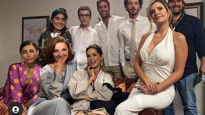 Los actores de 'Café, con aroma de mujer' que son novios en la vida real de la producción