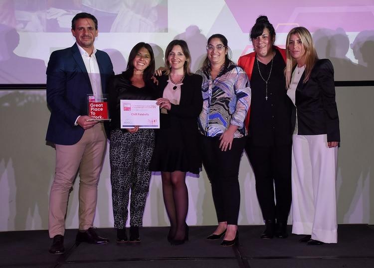 CMR FALABELLA, servicios financieros. Marcelo Cerutti, Gilda Ceballos, María Laura Magnolle, Natalia Gabrieloni y Marina Orlando
