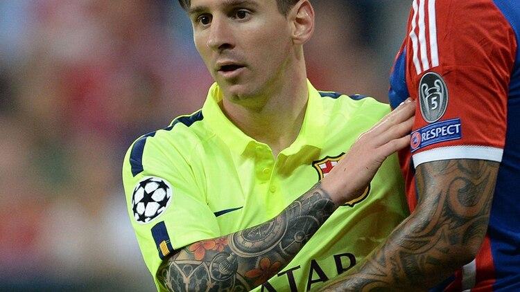 La Verdad Sobre El Tatuaje De Messi En El Brazo Su Hijo La