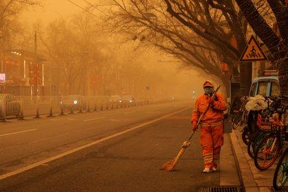 Beijing. REUTERS/Thomas Peter
