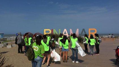 In Pinamar, last weekend around 40 people were present