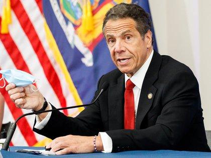 En la imagen, Andrew Cuomo, gobernador de Nueva York. EFE/EPA/JUSTIN LANE/Archivo