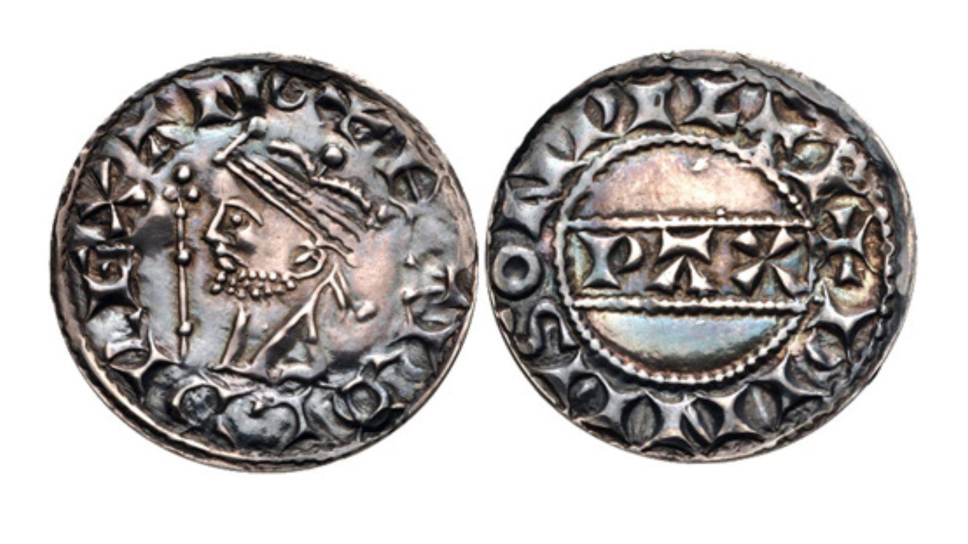 Esta son fotografías de las monedas de la etapa del rey Haroldo II que ya se tenía (Foto: CNG)