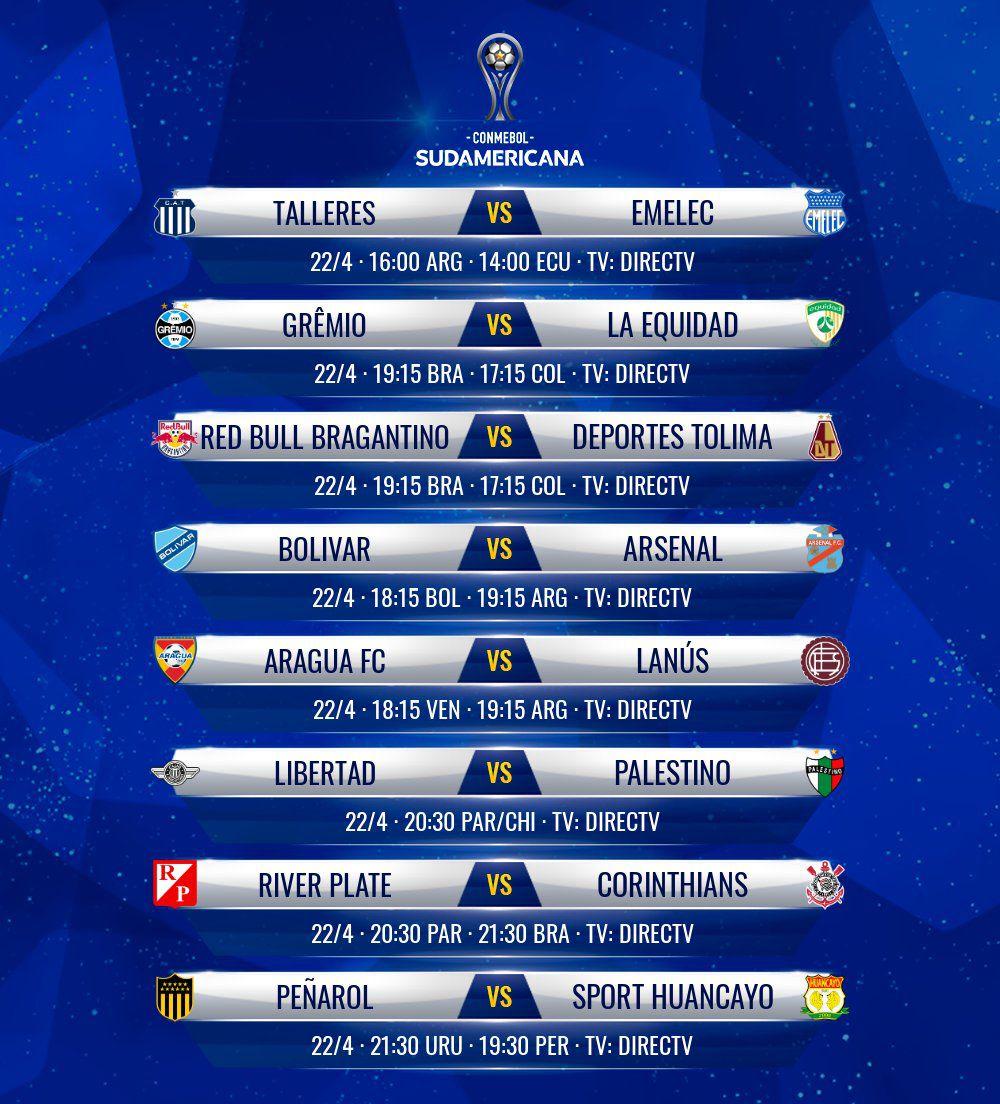 Copa Sudamericana partidos 1