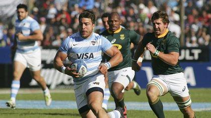Los Pumas cayeron en la última fecha del Rugby Championship (Foto: NA)