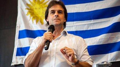 Luis Lacalle Pou, referente del Partido Nacional