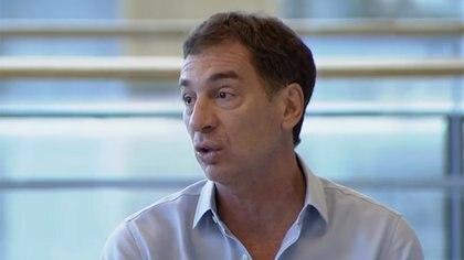 Diego Santilli se refirió a la situación en Villa Azul.