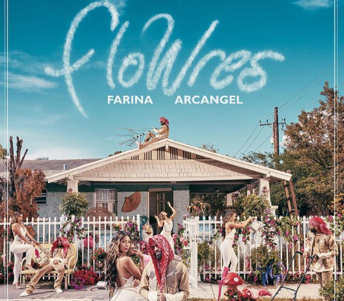 Farina y Arcángel estrenaron FloWers.