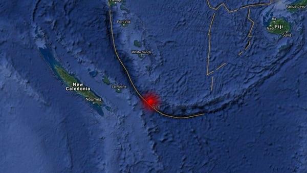Alerta de tsunami en Nueva Caledonia y otros dos archipiélago del Pacífico