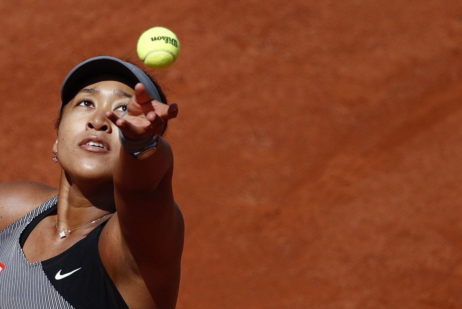 Naomi Osaka se expone a una sanción histórica (Reuters)
