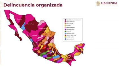 La Evaluación Nacional de Riesgos 2019-2020, presentada por Santiago Nieto, titular de la UIF, informó que en México existen 19 cárteles de alto impacto que predominan en el lavado de dinero (Foto: SHCP)