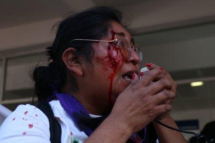 A fines de febrero, más de 500 políticos y simpatizantes de Morena exigieron en una carta que se retire la candidatura de Salgado. (FOTO: GALO CAÑAS/CUARTOSCURO)