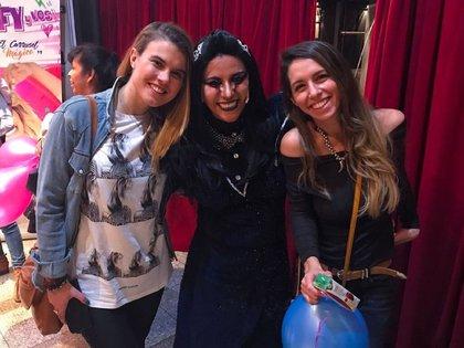 """Jimena con Georgina Mollo y Solange Verina: """"Somos amigas hace más de 20 años"""""""