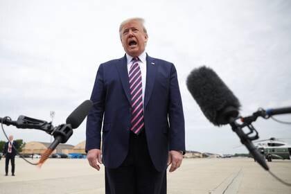 Donald Trump aseguró que EEUU no está detrás de la Operación Gedeón (REUTERS/Tom Brenner)