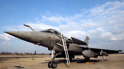 El jet francés Rafale (AFP)