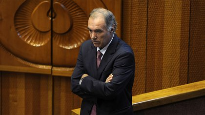 El senador derechista Jaime Orpis, primer preso por corrupción