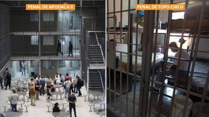Los reos relataron la diferencia abismal que vivían en el penal de Topo Chico en comparación con el penal de Apodaca II (Foto: Especial)