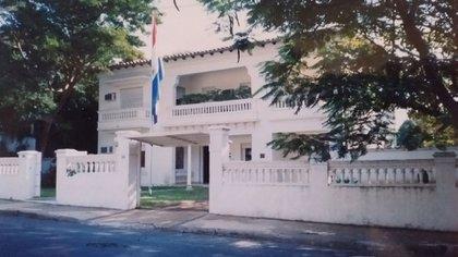 Residencia de la familia Gayol en Asunción, donde se alojó Perón