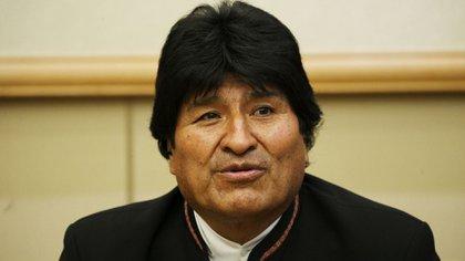 Evo Morales, presidente de Bolivia (EFE)