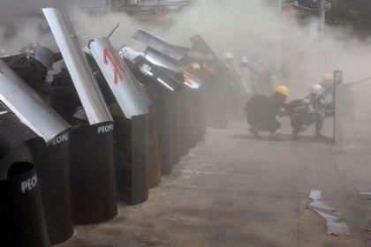 EEUU repudió la represión contra los manifestantes (REUTERS/Stringer)