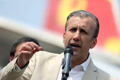 Tareck El Aissami (REUTERS/Manaure Quintero)