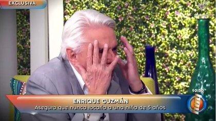 """Enrique Guzmán se pronunció sobre las acusaciones de abuso sexual infantil en """"Hoy"""""""