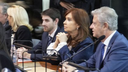 Cristina Fernández de Kirchner, en el juicio por los contratos de obras con Lázaro Báez. Un frente judicial complejo.