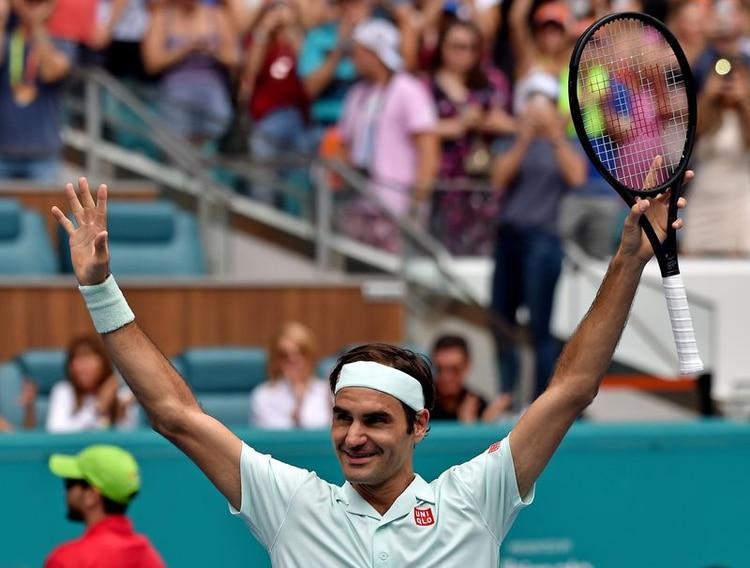 Federer se recuperó de una artroscopía de rodilla - Steve Mitchell-USA TODAY Sports