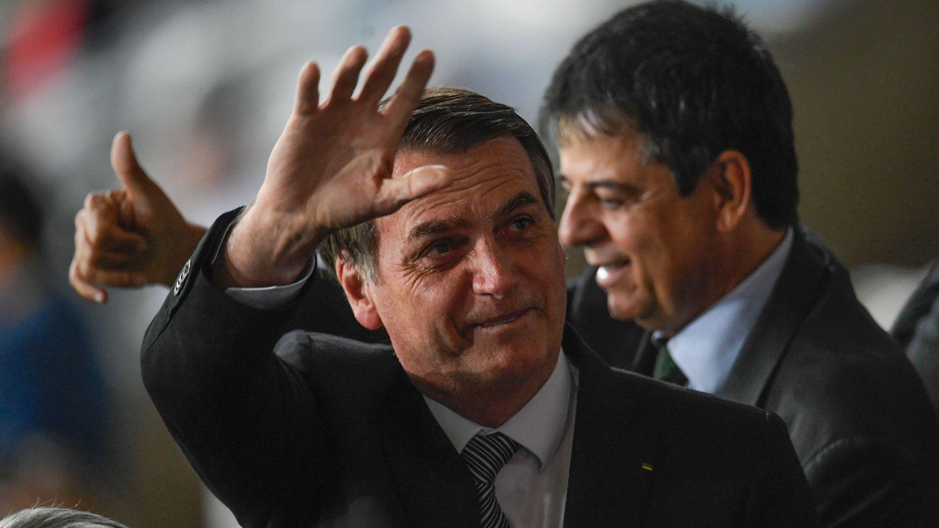 Jair Bolsonaro, presidente de Brasil (AFP)