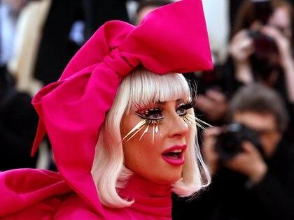 Lady Gaga está en Roma filmando una película y dejó a sus tres bulldogs franceses en Hollywood (REUTERS / Archivo)