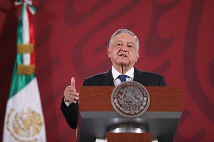 """El mandatario mexicano también busca obtener una """"cooperación"""" de aquellos que lucran con críticas a su persona y su gobierno (Foto: Sáshenka Gutiérrez/ EFE)"""