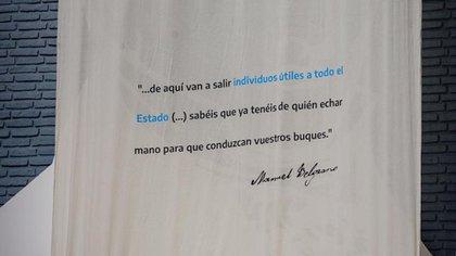 Una de las frases con las que Belgrano definió la importancia de la gente de mar