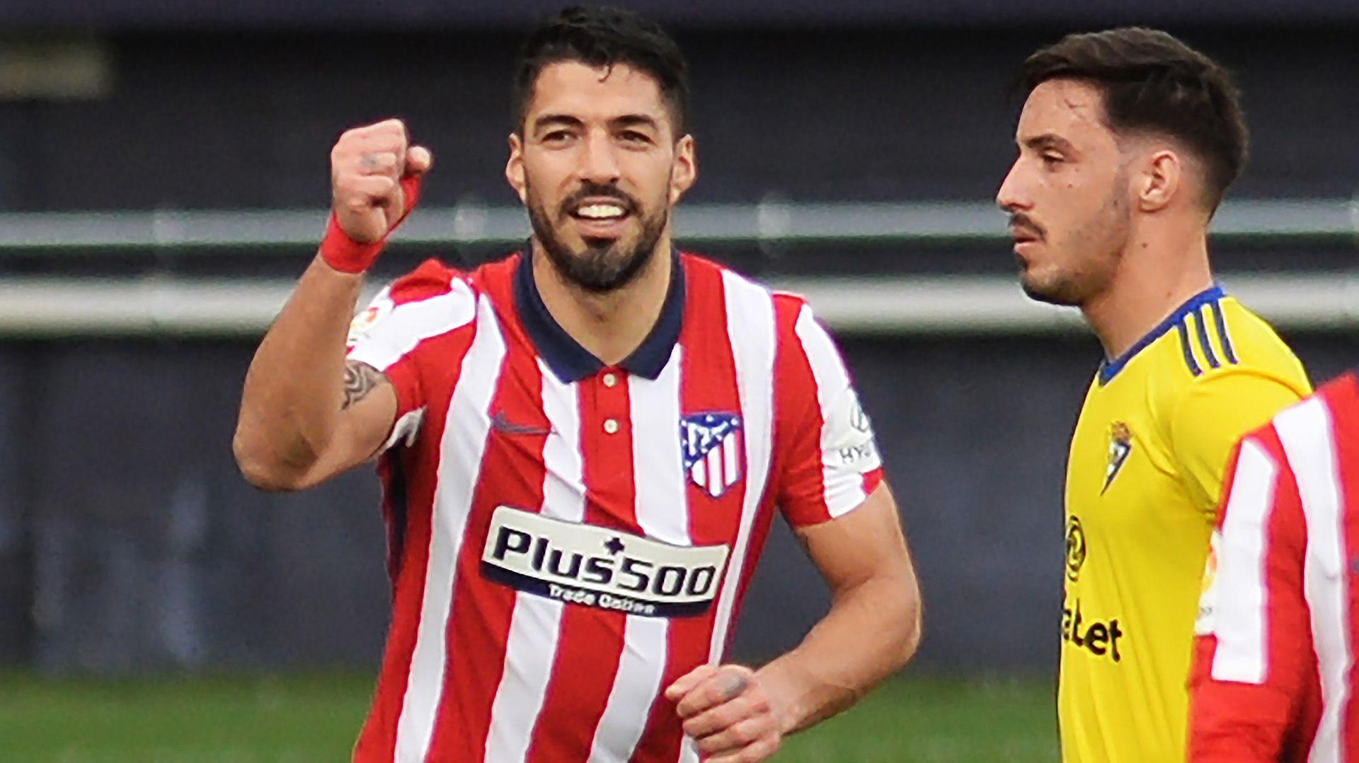Luis Suarez Atlético Madrid