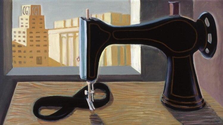 """""""Luto"""", la obra plástica del artista Daniel Santoro."""