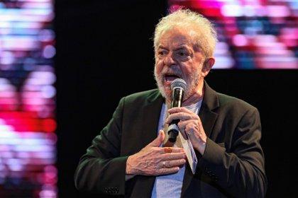 En la imagen, el expresidente de Brasil Luiz Inácio Lula da Silva. EFE/Carlos Ezequiel Vannoni/Archivo