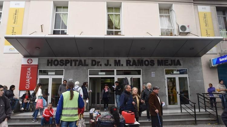 Olivares fue trasladado al hospital Ramos Mejía