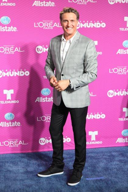Juan Soler en los premios Tu Mundo, en Miami (Crédito: Shutterstock)
