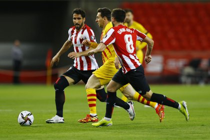 Barcelona y Athletic Bilbao se miden en la final de la Copa del Rey en Sevilla (REUTERS/Marcelo Del Pozo)