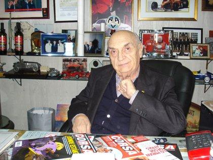 Froilán en su oficina en 2011 (Archivo CORSA).