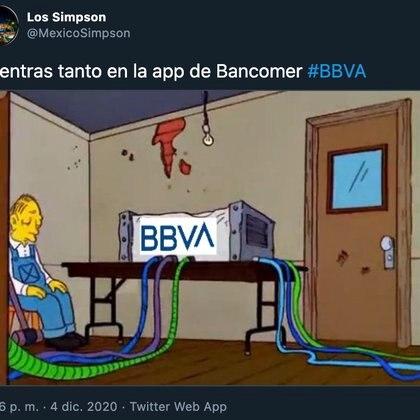 Memes sobre la caída de BBVA (Foto: Twitter)