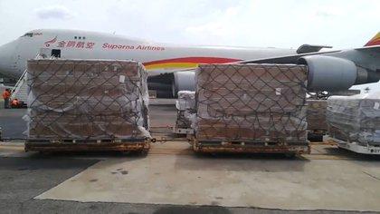 La ayuda de China que llegó a Venezuela