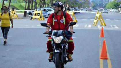 Carlos Montaldo es técnico en Emergencias e instructor de paramédicos