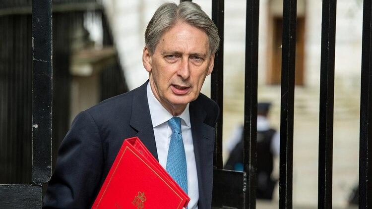 Phillip Hammond, el exministro de economía (AFP)