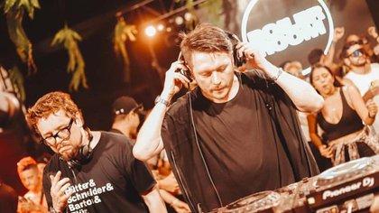 DJ Hernán Cayetano. Foto: instagram @hernancayetano