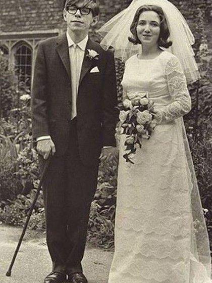 Durante su matrimonio en 1965 con Jane Wilde