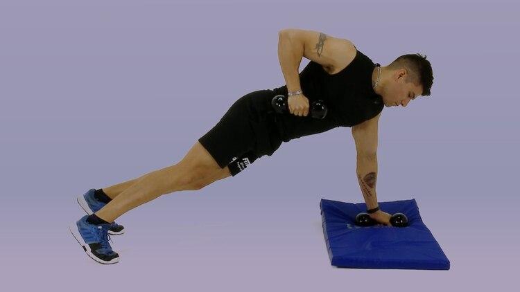 Flexoextensiones con remo